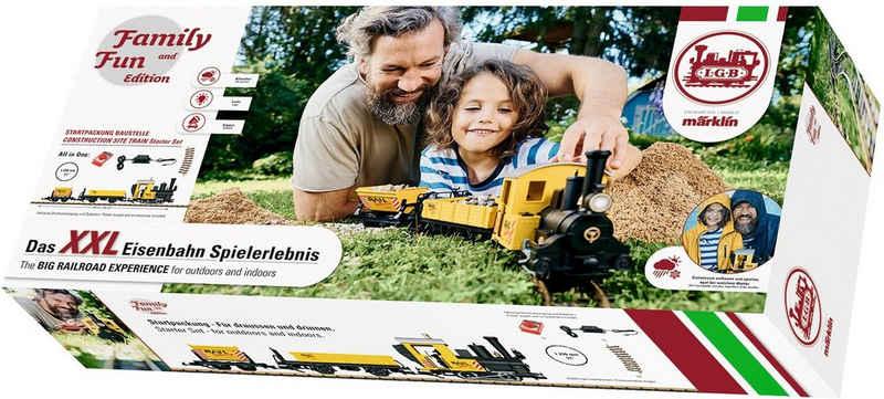 LGB Modelleisenbahn-Set »LGB - Family and Fun - Baustellenzug 230 Volt - L70503«, Spur G, für Einsteiger, Made in Europe