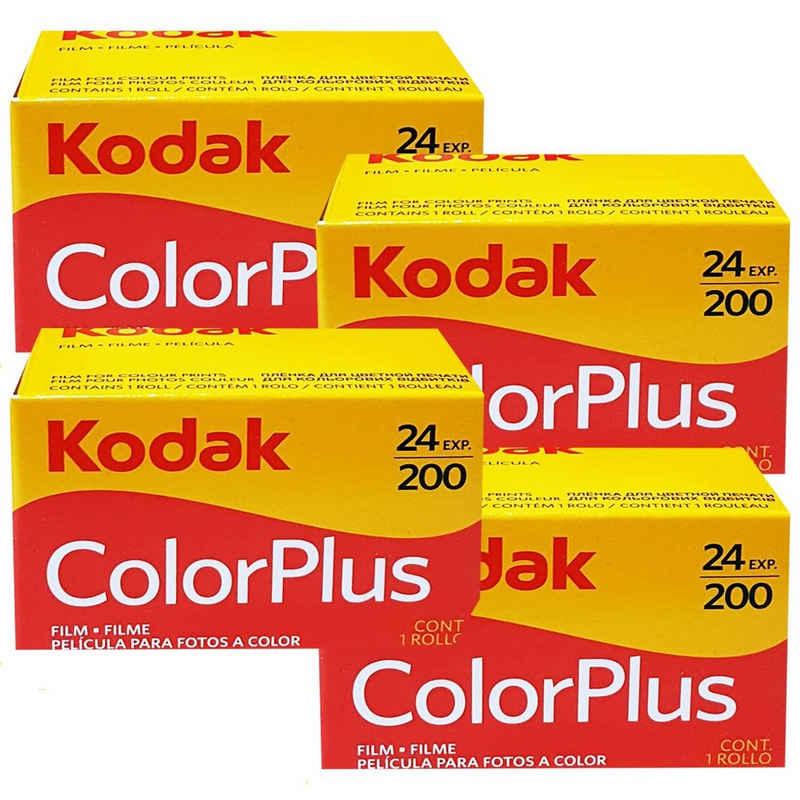 1A PHOTO PORST »4 x Kodak Color plus 200 135/24 Kleinbildfilm für« Superzoom-Kamera