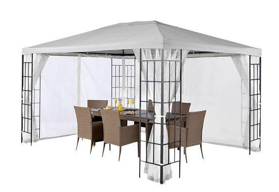 KONIFERA Pavillonseitenteile, mit 2 Seitenteilen, »Modern«/»Tulpe« in 300x400 cm