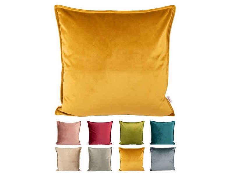 Kissenbezug »Samt&Sonders«, beties, Kissenbezug ca. 40x40 cm Kissenhülle aus einem Deutschen Unternehmen in hochwertiger Qualität