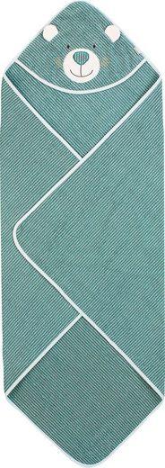 Sterntaler® Kapuzenhandtuch »Ben« (1-St), mit Streifen