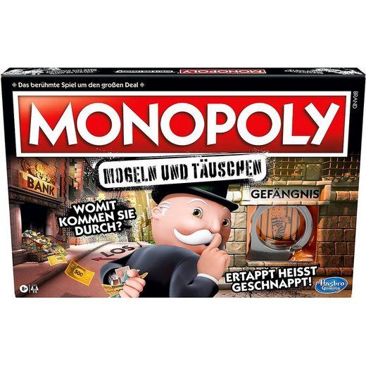 Hasbro Spiel, »Monopoly MOGELN & TÄUSCHEN«