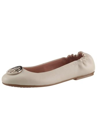 Tommy Hilfiger »TH BASIC LEATHER BALLERINA« Ballerina...