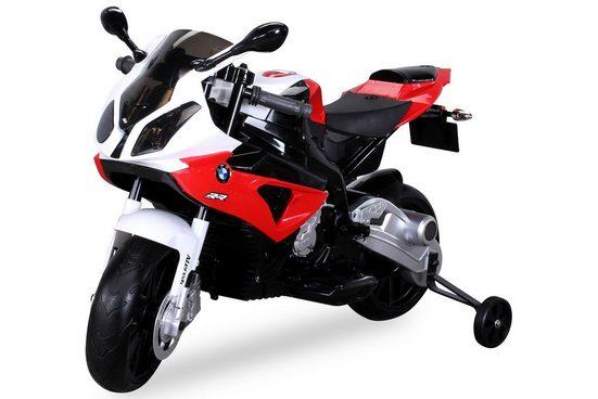 Actionbikes Motors Elektro-Kindermotorrad »Kinder Elektromotorrad BMW S 1000 RR«, Belastbarkeit 25 kg, Elektro Motorrad bis 25kg belastbar