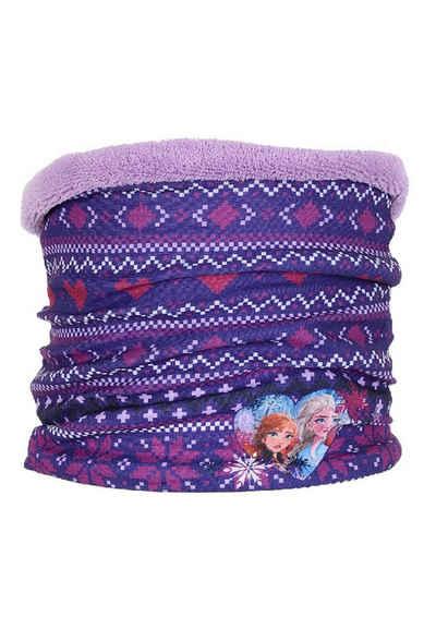Disney Frozen Loop »Eiskönigin Anna & Elsa Winter-Schal Schlauch-Schal« Lila