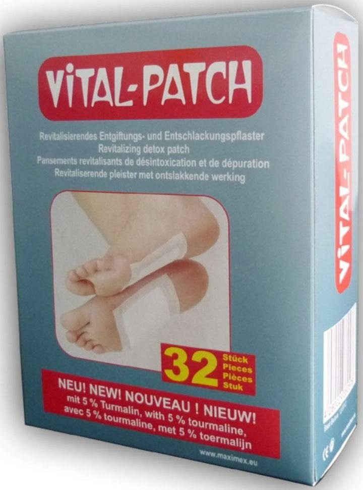 Maximex Pflaster »Vital Patch Fußpflaster« (32 Stück), mit Baumessig und Turmalinpulver
