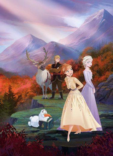 Komar Fototapete »Frozen spring is coming«, glatt, Comic, bedruckt, (Packung), ausgezeichnet lichtbeständig