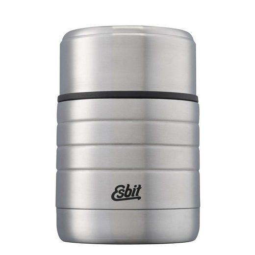 Esbit Thermobehälter, Edelstahl, (1-tlg), MAJORIS Edelstahl Thermobehälter 600ml Essensbehälter Isolierbehälter Wandern Camping Thermobox Lunchbox