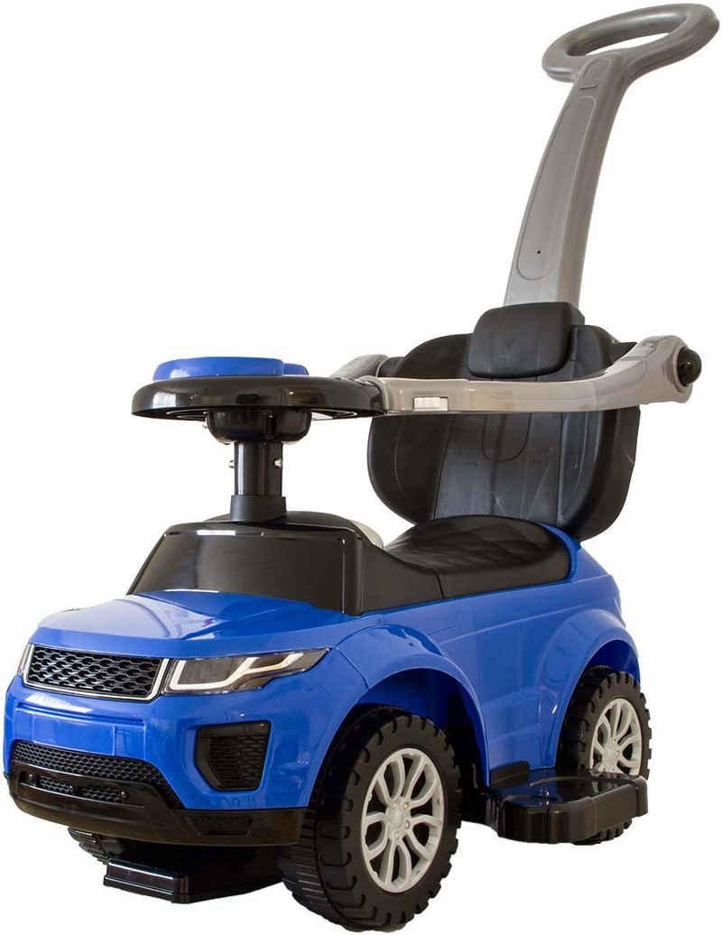 NATIV Spielzeug Rutscherauto, Rutschauto mit abnehmbarer Schiebestange und Fußablage