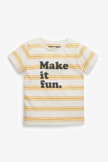 Next T-Shirt »T-Shirt mit Schriftzug« (1-tlg)