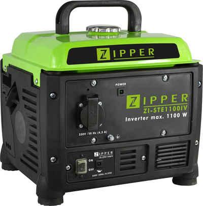 ZIPPER Stromerzeuger, 1,1 in kW, mit einfacher Bedienung