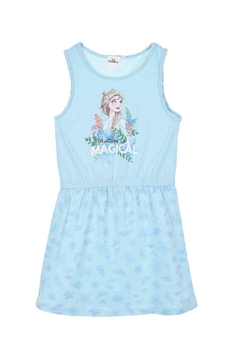 Disney Frozen Sommerkleid »Mädchen Sommer-Kleid Kinder Jerseykleid«