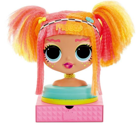 MGA Sammelfigur »L.O.L. Surprise OMG Styling Head - Neonlicious«