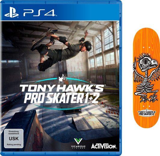 Tony Hawk's Pro Skater 1+2 PlayStation 4, inkl. Mini Fingerboard