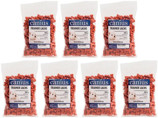 CANIUS Hundesnack »Trainer Lachs«, 7 x 200 g