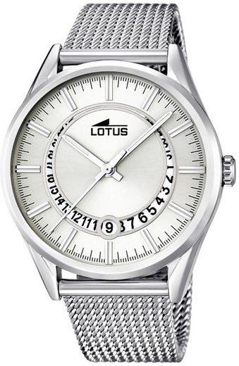 Lotus Multifunktionsuhr »UL15975/1 Lotus Damen Uhr Fashion L15975/1 Stahl«, (Analoguhr), Damen Armbanduhr rund, groß (ca. 40,1mm), Edelstahlarmband silber