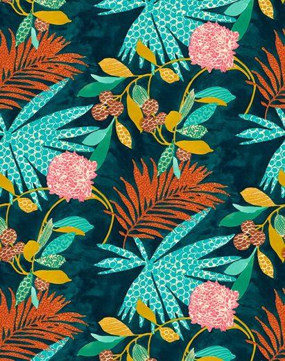 SCHÖNER WOHNEN-Kollektion Vliestapete »Exotic«, floral, 2,12 x 2,7 Meter