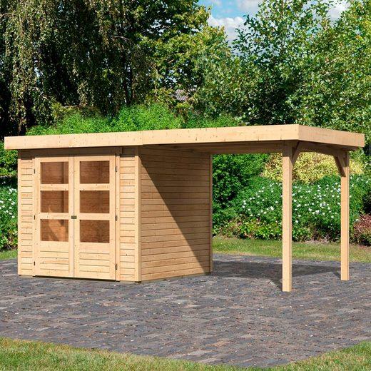 Karibu Gartenhaus »Arnis 2«, BxT: 467x238 cm, (Set)