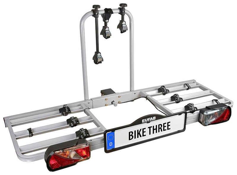 EUFAB Kupplungsfahrradträger »Bike Three«, für max. 3 Räder