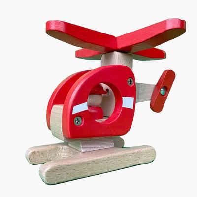 goki Spielzeug-Hubschrauber »Helikopter Goki«, Aus Holz Größe 15 cm x 12 cm x 15 cm