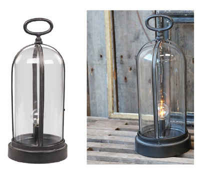 Chic Antique Kerzenhalter »Factory Lampe LED Laterne Windlicht Chic Antique 36cm 25472-25«