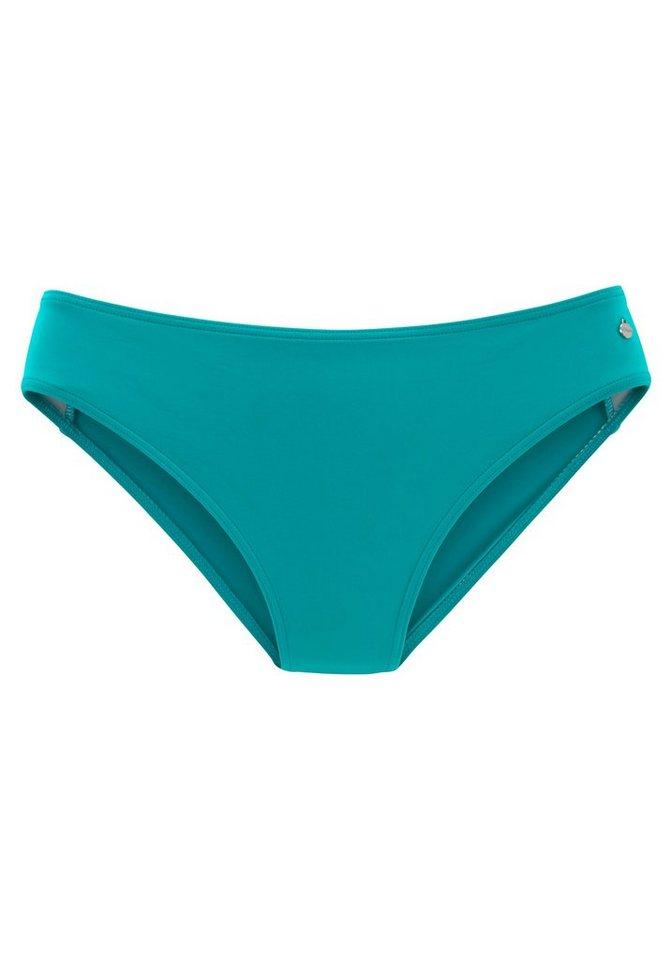 Bademode - s.Oliver Bikini Hose »Spain«, unifarben › blau  - Onlineshop OTTO