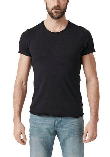 Q/S by s.Oliver T-Shirt mit Rundhalsausschnitt