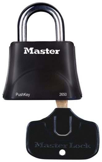 MASTER LOCK Vorhängeschloss »PushKey & Trade«, für Menschen mit eingeschränkter Handmobilität