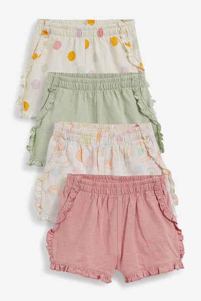 Next Sweatshorts »Shorts aus Bio-Baumwolle, 4er-Pack« (4-tlg)