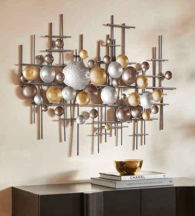 Guido Maria Kretschmer Home&Living Wanddekoobjekt »Lightlex«, Wanddeko, Wanddekoration, aus Metall