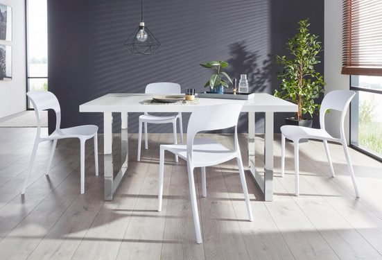 Essgruppe »Manger/Florian 160«, (Set, 5-tlg), mit 4 Stühlen