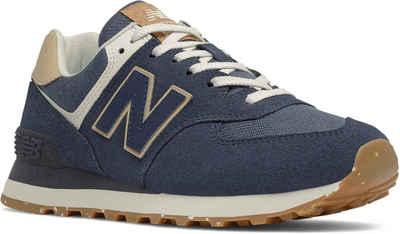 """New Balance »WL574 """"Sustainability Pack""""« Sneaker mit praktischer Schnürung"""