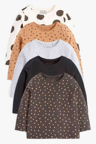 Next T-Shirt »Basic-T-Shirts im 5er-Pack« (5-tlg)