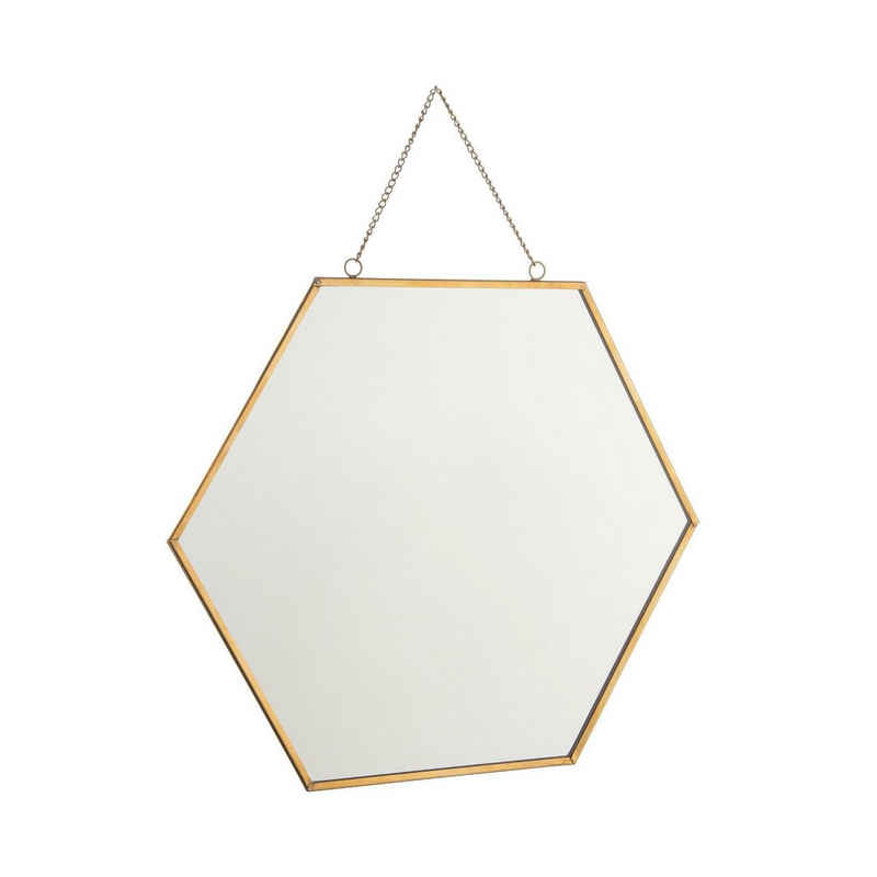 BUTLERS Wandspiegel »CARAT Spiegel Hexagon L 24 x B 28cm«