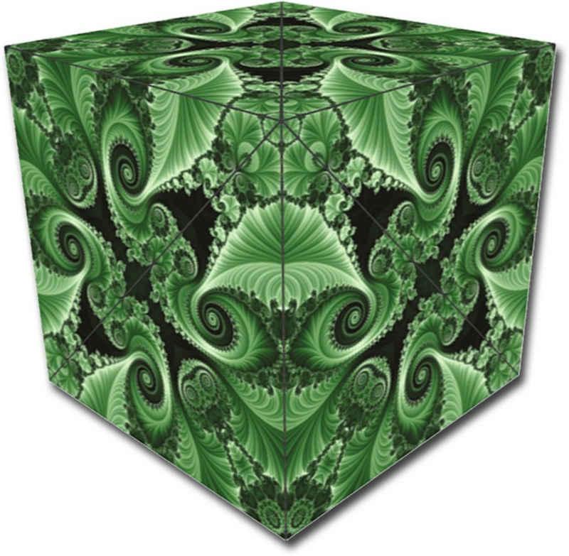 GeoBender Würfelpuzzle »Cube Bees«, Puzzleteile