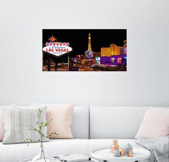 Posterlounge Wandbild, Fabulous Las Vegas