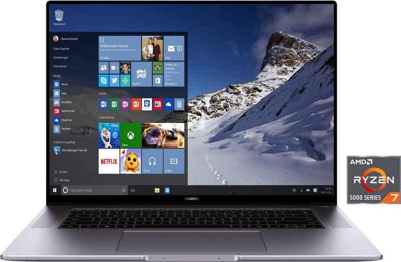 Huawei MateBook 16 Notebook (40,64 cm/16 Zoll, AMD Ryzen 7 5800H, Radeon Graphics, 512 GB SSD)
