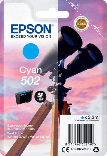 Epson »Singlepack Cyan 502 Ink« Tintenpatrone