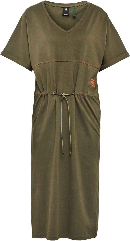 G-Star RAW Jerseykleid »Adjustable Waist Kleid« mit Kordelzug an der Taille – verstellbar
