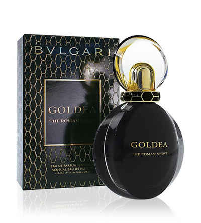 BVLGARI Eau de Parfum »Bvlgari Goldea The Roman Night EDP Sensuelle 75ml«