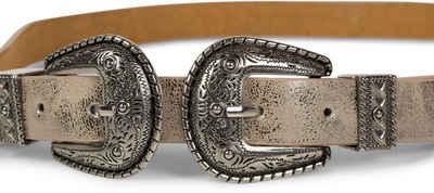 styleBREAKER Taillengürtel »Gürtel mit Doppelter Schnalle, Taillengürtel« Gürtel mit Doppelter Schnalle, Taillengürtel