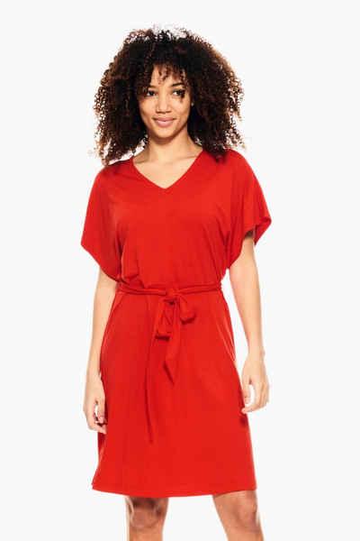 Garcia A-Linien-Kleid »D10080 - 595-fiesta« mit Bindegürtel