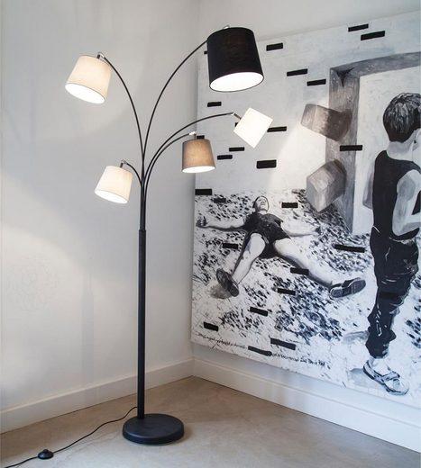 By Rydens Stehlampe »By Rydens Foggy 5-flg. 200cm«