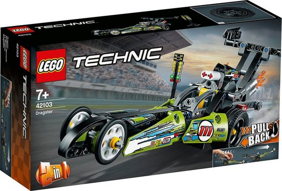 LEGO® Konstruktions-Spielset »LEGO® 42103 Technic: Dragster Rennauto«