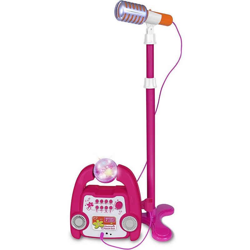 Bontempi Mikrofon »iGirl Boom-Box mit Ständermikrofon«