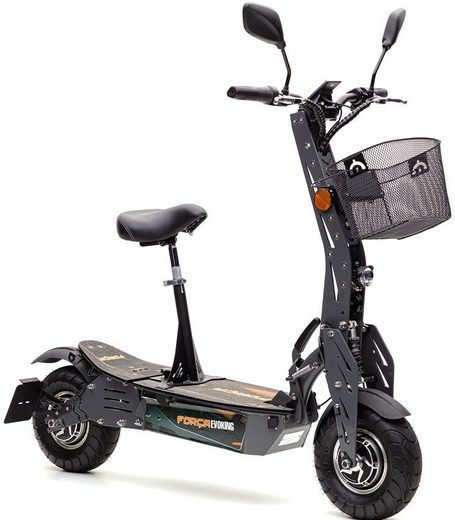 Forca E-Scooter »Evoking 45 km/h Basic«, 1000 W, 45 km/h