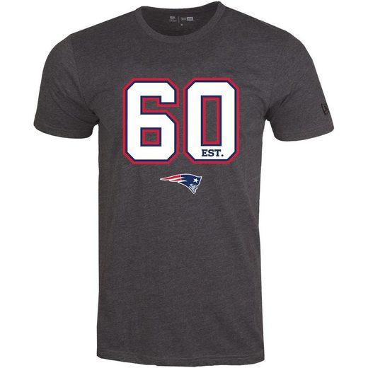 New Era Print-Shirt »ESTABLISHED LOGO New England Patriots«