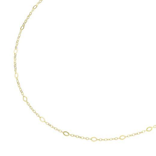 Luigi Merano Goldkette »offene, rautenförmige Glieder, Gold 375«