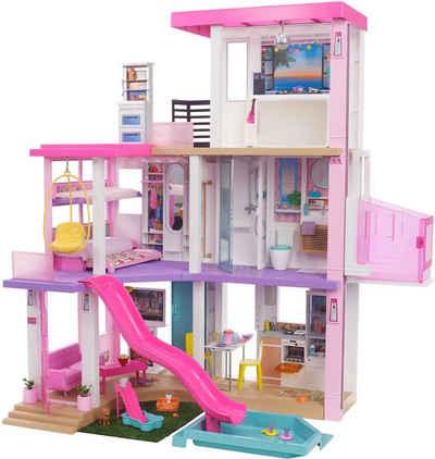 Barbie Puppenhaus »Traumvilla«, mit Balkon, Dachterasse & Aufzug, LIcht und Sound