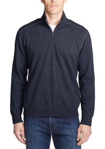 Eddie Bauer Sweatshirt Camp Fleece mit 1/4-Reissverschluss
